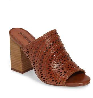 Jeffrey Campbell Kelowna Perforated Mule Sandal