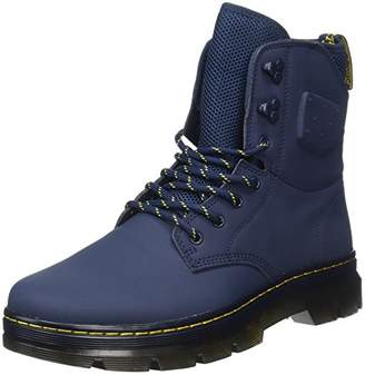 Dr. Martens Unisex Adults' Quinton Indigo Ajax+Synthetic Nubuck Boots, Blue, 38 EU