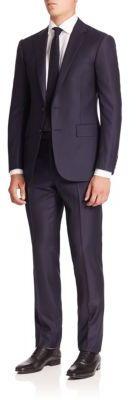 Polo Ralph LaurenPurple Label Classic-Fit Solid Wool Suit