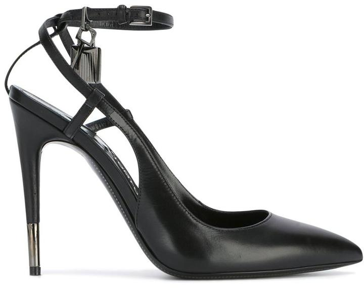Tom Ford strappy ankle pumps