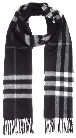 Burberry  Burberry Giant Icon cashmere scarf
