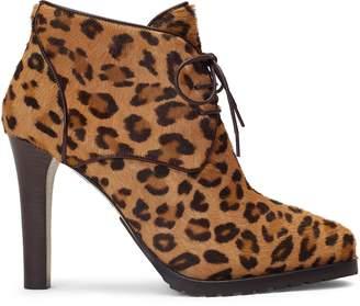 Ralph Lauren Wynter Leopard Haircalf Boot