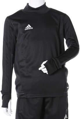 adidas (アディダス) - アディダス adidas ジュニア サッカー/フットサル ジャージジャケット KIDS TIRO17 トレーニングトップ BK0293