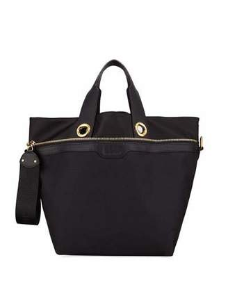 See by Chloe Judo Fabric and Leather Shoulder Bag