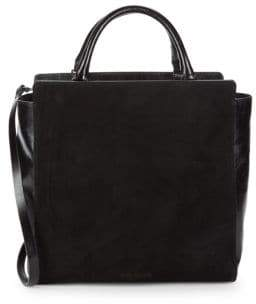 82449311e0 Halston Leather Tote Shoulder Bag