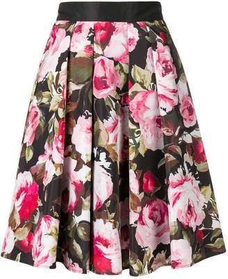 Liu Jo floral print A-line skirt