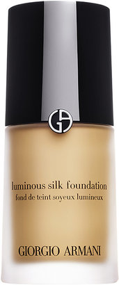Armani Women's Luminous Silk Foundation-TAN $64 thestylecure.com