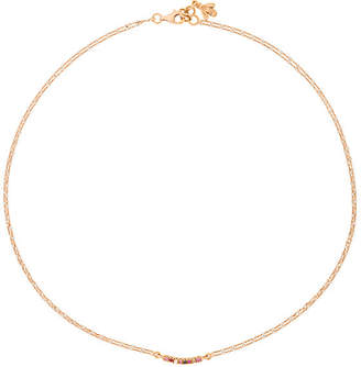 Carolina Bucci Dawn Mini Bar Chain Necklace