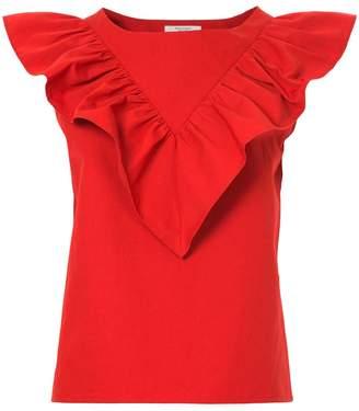 Atlantique Ascoli frill layered blouse