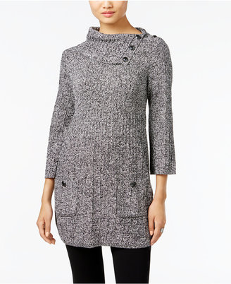 Style & Co. Envelope-Neck Tunic Sweater, Only at Macy's $54.50 thestylecure.com