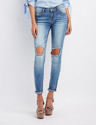 Refuge Crop Boyfriend Destroyed Jeans $32.99 thestylecure.com