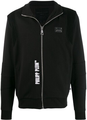 Philipp Plein zipped logo sweater