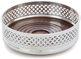 Corbell Silver Company Inc. Silver-Plated Wine Coaster - Diamond