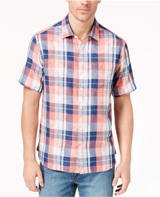 Tommy Bahama Men's Double Fauna Plaid Shirt