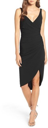 Women's Katie May Wrap Front Crepe Dress $260 thestylecure.com