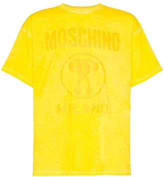 Moschino MOSCH OVR DYE TEE YEL