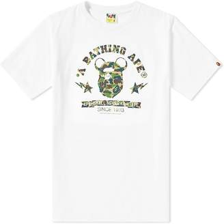 A Bathing Ape x Medicom Ape Head Be@r Tee