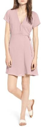 Women's Lush Olivia Wrap Dress $49 thestylecure.com