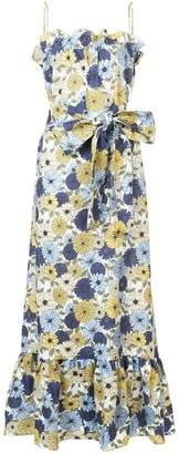Lisa Marie Fernandez floral print maxi dress