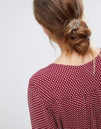 Orelia Heart Chakra Hair Clip