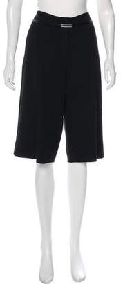 Robert Rodriguez High-Rise Tailored Shorts