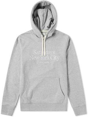 Saturdays NYC Ditch Embroidered Miller Standard Hoody