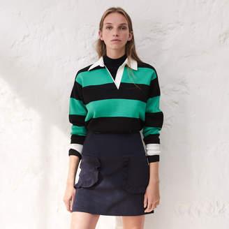 Sandro Short A-line skirt