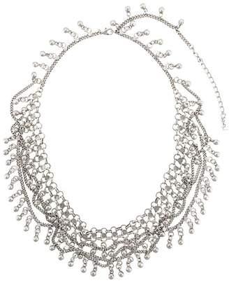 Saint Laurent Folk necklace