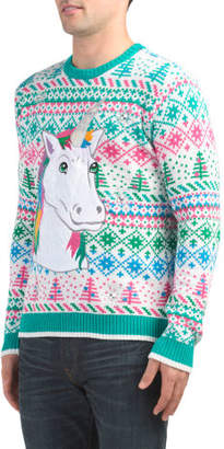 Winter Unicorn Sweater