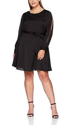 Wolf and Whistle Curve Women s Cecily Open Arm Belted Party Dress 458e11aeb