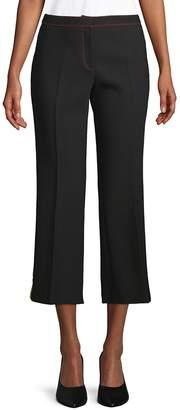 Burberry Women's Snakeskin-Embossed Cropped Pants