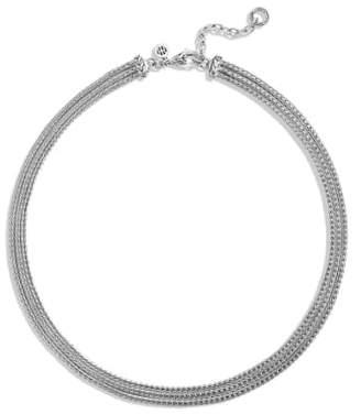 John Hardy 'Classic Chain' Three Row Collar Necklace
