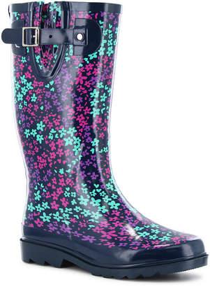 Western Chief Camoflorage Womens Waterproof Rain Boots Wide