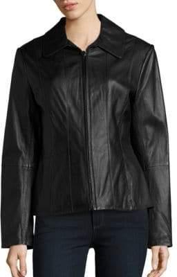 Nautica Genuine Lambskin Leather Jacket