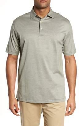 Peter Millar Briarwood Stripe Cotton Polo