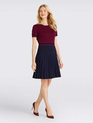 Draper James Magnolia Fair Isle Knit Dress