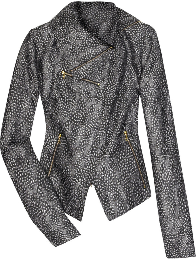 RM by Roland Mouret Zephyr silk brocade jacket