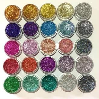 Flawless Pressed Eye Glitter Gel Pots
