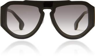 Philippe Chevallier Box Square Frame Sunglasses