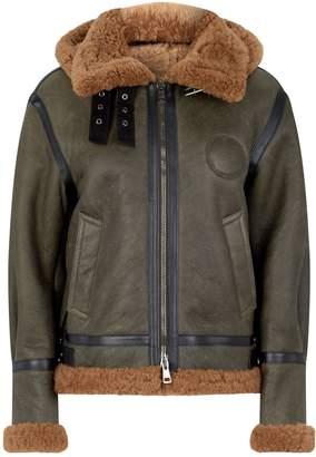 Chloé Shearling Aviator Jacket