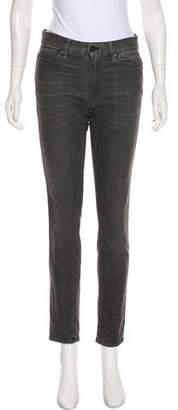 Hope Mid-Rise Straight-Leg Jeans