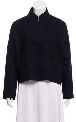Zero Maria Cornejo Oversize Cropped Jacket
