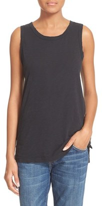Women's Current/elliott 'The Muscle Tee' Cotton Tank $74 thestylecure.com