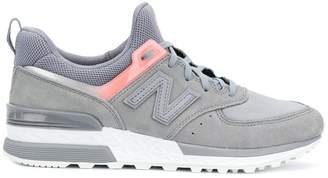 New Balance 574 laced sneakers