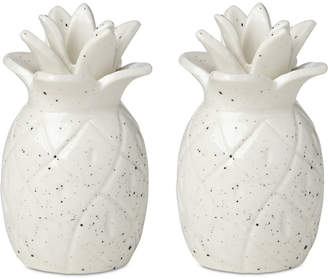 Kate Spade Cannon Street Botanical Accents Pineapple Salt & Pepper Set