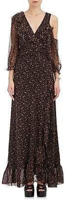 Clive Maison Mayle Women's Den Silk Wrap Gown