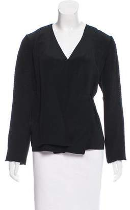 Maiyet Silk Wrap Top