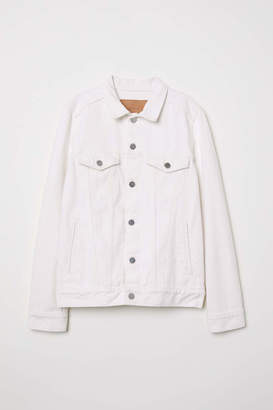 H&M Denim Jacket - White denim - Women