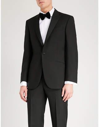 Richard James Regular-fit wool and mohair-blend tuxedo jacket