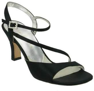David Tate Beverly Dress Satin Sandals
